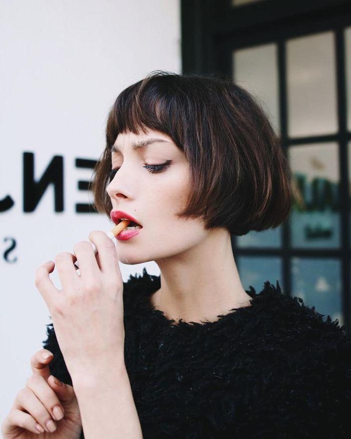 1001 Idees Pour Une Coiffure Avec Frange Courte Beaute Hair