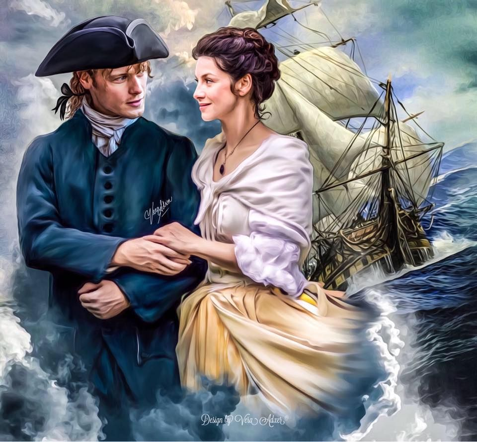 outlander season 3 Voyager by Diana Gabaldon Jamie and