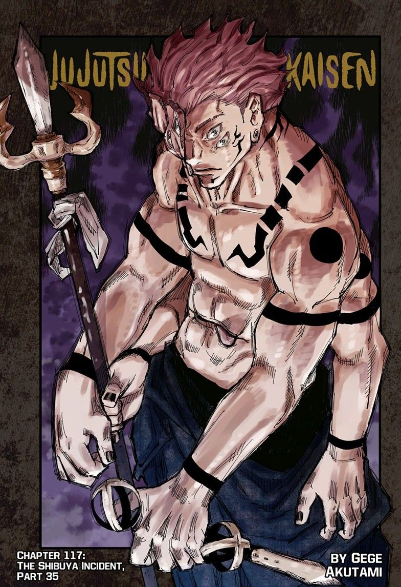 Jujutsu Kaisen Chapter 117 Jujutsu Anime Manga Covers