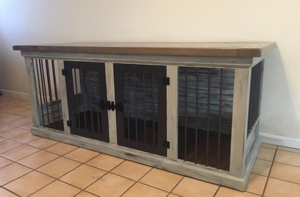 Farmhouse Double Dog Kennel  Farmhouse Double Dog Kennel