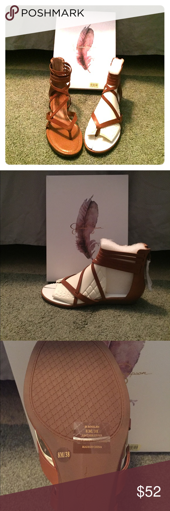 Jessica Simpson Roselen Wedge Sandal (Burnt Umber) Brand new, never worn, still in original packaging, Jessica Simpson Roselen Wedge Sandals (Burnt Umber). Summer sexy low wedge sandal 😎 Perfect for casual wear or even to dress up! Jessica Simpson Shoes