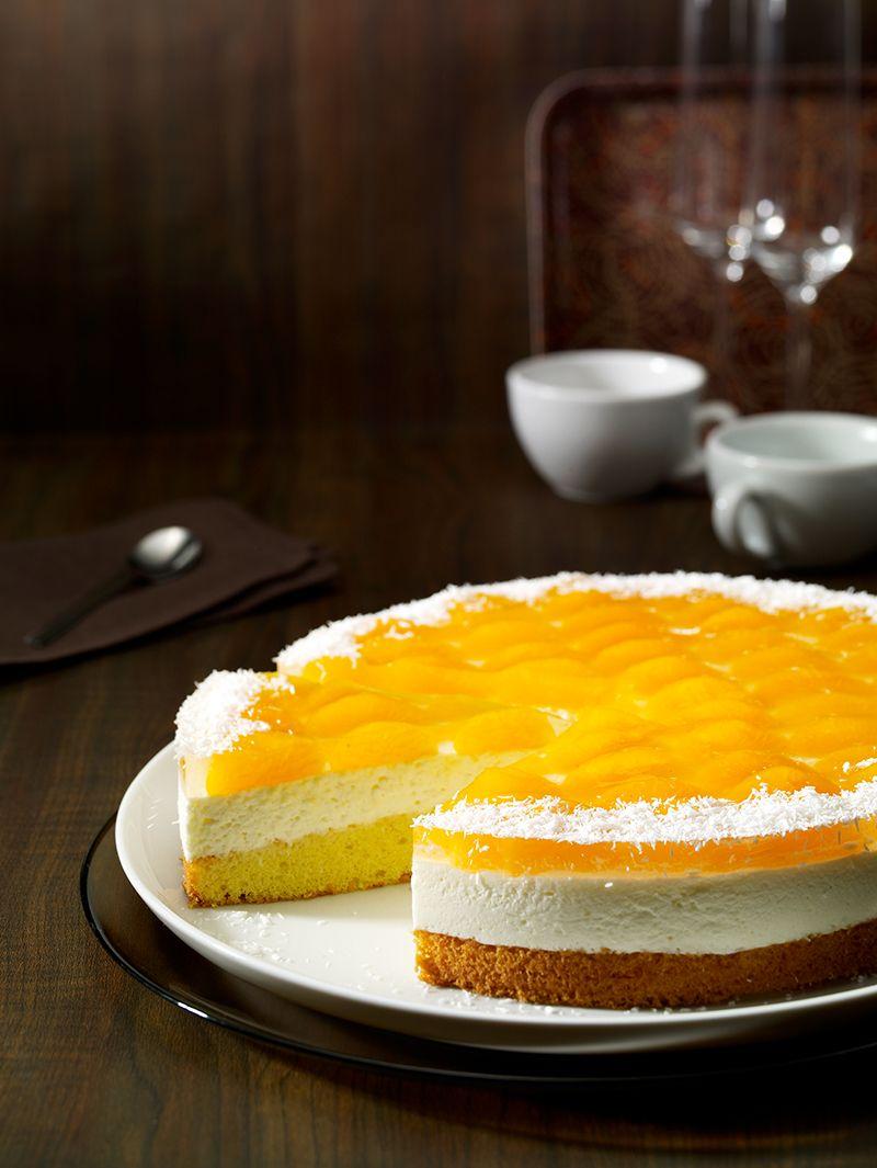 Mandarinen Kokos Torte Rezept Torten Kuchen Pinterest