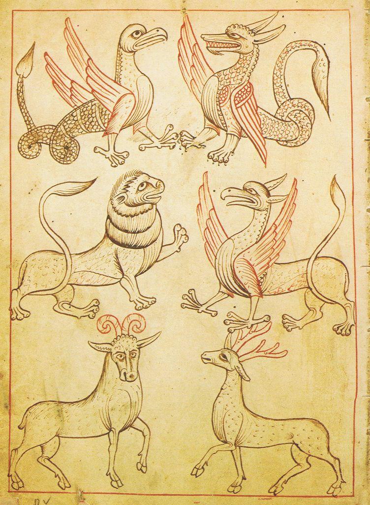 https://flic.kr/p/5Zagfu | Reiner Musterbuch | Patternbook from Zisterzienserstift / monastery Rein near Graz, Austria Codex Vindobonensis 507 der Österreichischen Nationalbibliothek Wien 1208-1213