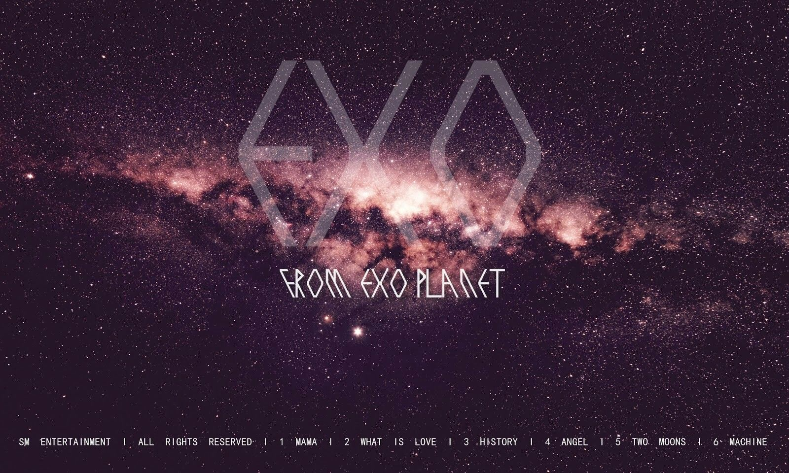 EXO Logo Wallpaper HD เอ็กโซ