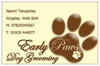 See Reviews Of Early Paws Cheshire On Edogadvisor The Uk S Dog Review Website Dog Dogs Reviews Edogadvisor Dog Groomers Dog Grooming Paw