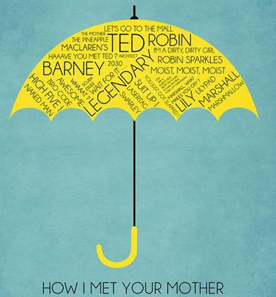 How I Met Your Mother Art Print by Josh Goldman / Society6