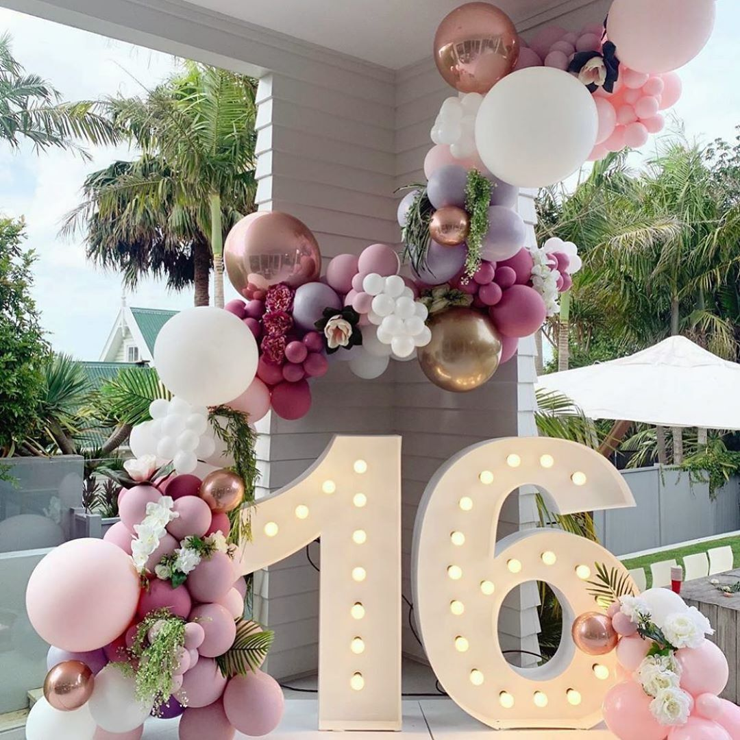 331 Curtidas 3 Comentarios The Event Collective Theeventcollectivex No In 2021 Light Pink Birthday Party 21st Birthday Decorations Sweet 16 Party Decorations