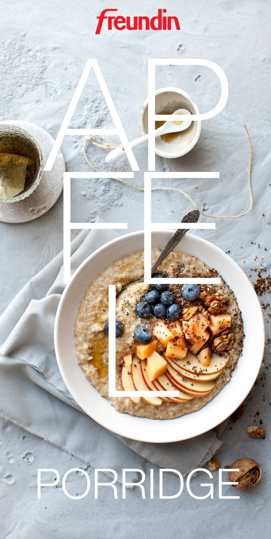 Schnelles Rezept Apfel Hafer Porridge Alles Mit äpfeln