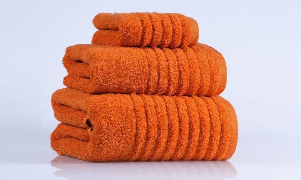 Burnt Orange Bath Towels Home