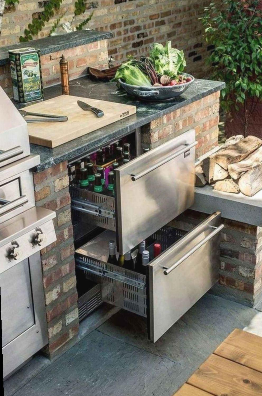 Diy Outdoor Kitchen Area Livetiny Nature Cabintinyhousebuilder