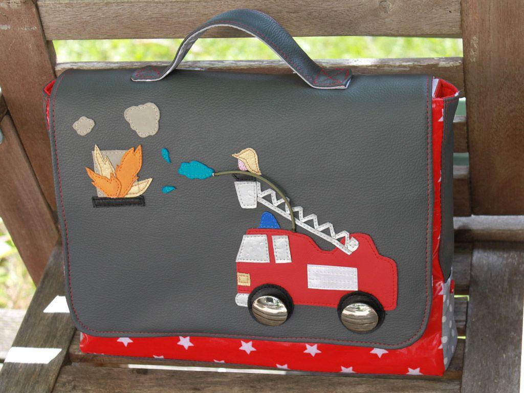 design de qualité 0c739 9f1e6 Un cartable pompier pour l'entrée en maternelle de mon grand ...