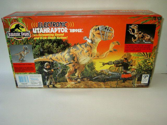 Jurassic Park Dinosaur Toys | Utahraptor