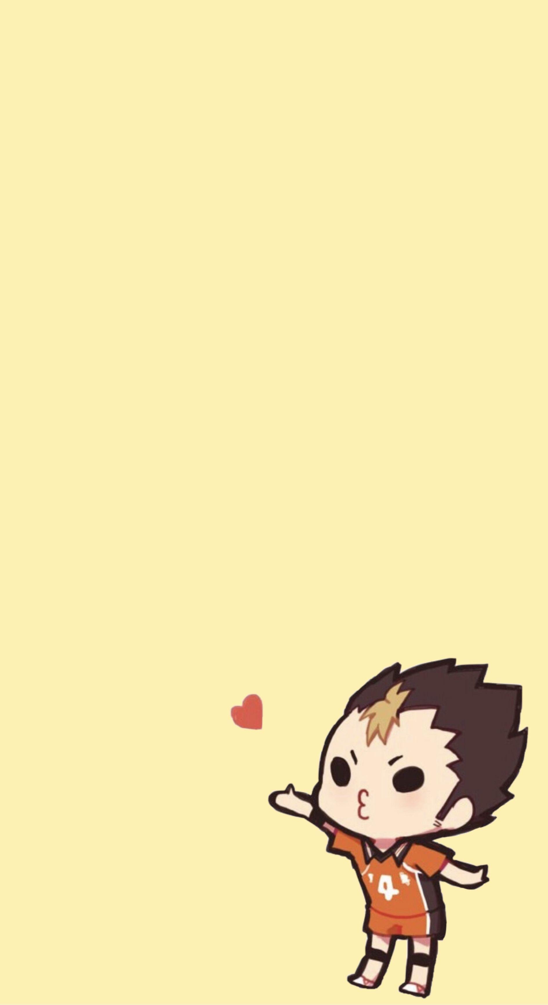 nishinoya wallpaper in 2020   Haikyuu anime, Cute anime ...