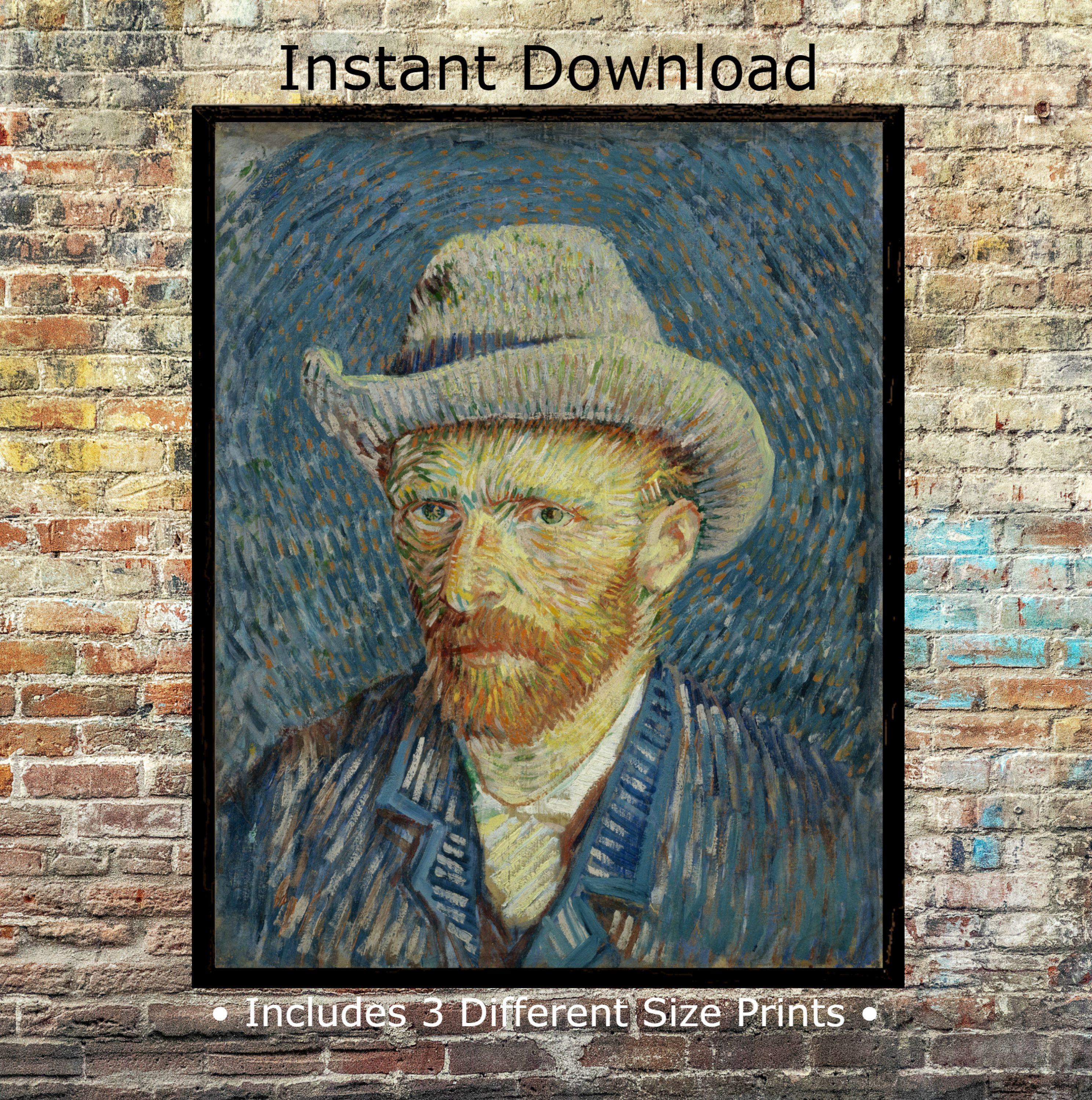 Vincent Van Gogh S Self Portrait Digital Art Prints