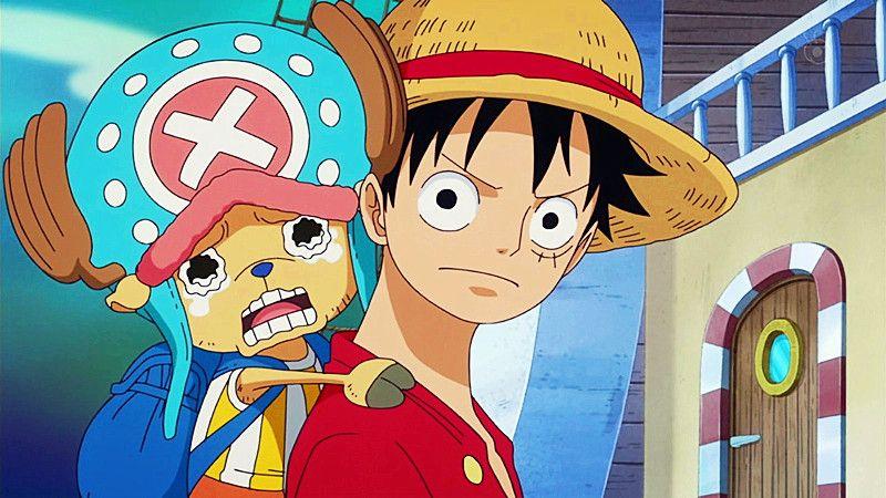 Monkey D Luffy And Tony Tony Chopper One Piece One