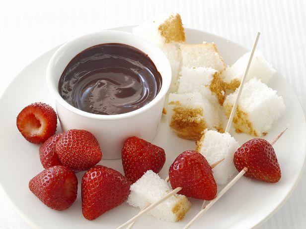 Chocolate Fondue from FoodNetwork.com