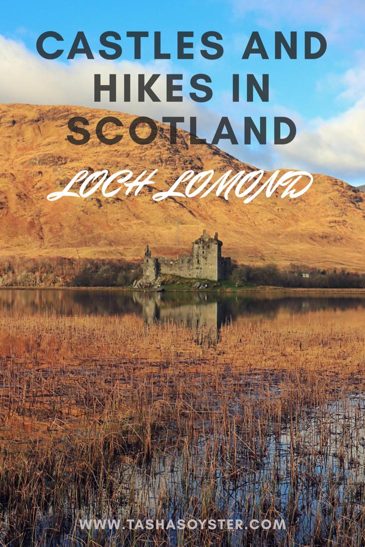 Hiking and Castle spotting in Scotland #scotland #hiking #castles #lochlomond