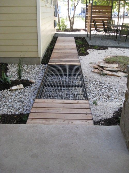 A Wood Deck With Metal Grate Panels Like This Installed Above Basement  Window Wells. Landscape Metal Grating Design, Pictures, Remodel, ... Nice Look