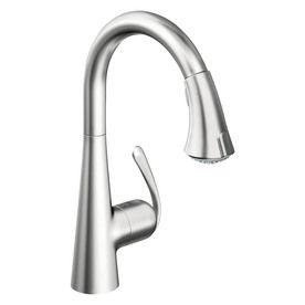 225 & GROHE Ladylux Stainless Steel Pull-Down Kitchen Faucet | kitchen ...