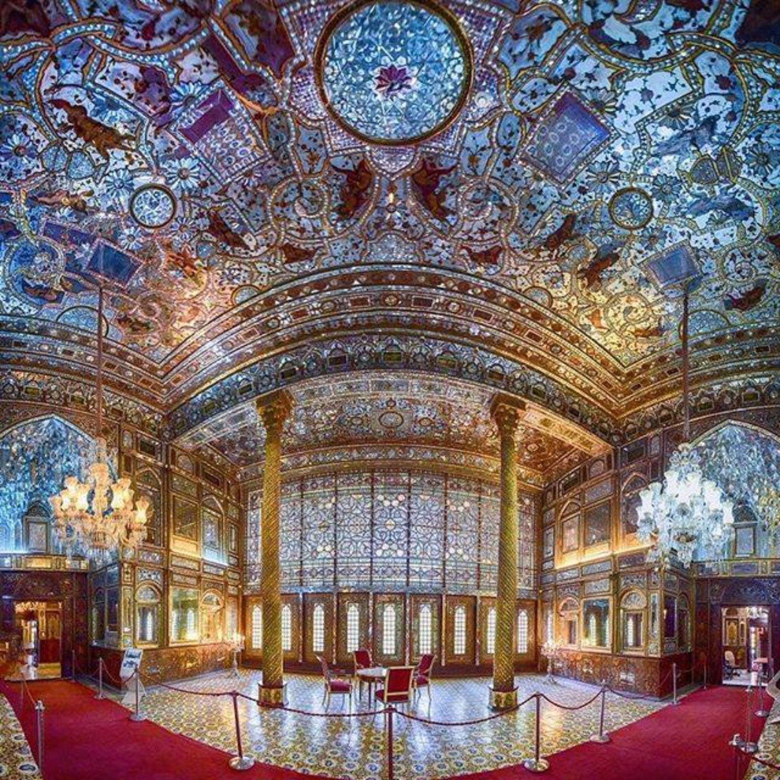 Amazing Iranian Architecture Historical Golestan Palace