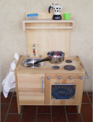 cucina di legno fai da te | made from wood | Pinterest | Toy kitchen ...
