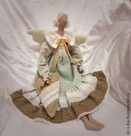 Куклы Тильды ручной работы. Ярмарка Мастеров - ручная работа Тильда домашняя фея. Handmade.