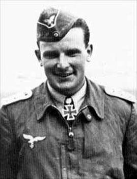 Hendrik Stahl. Pilote de Stukas.