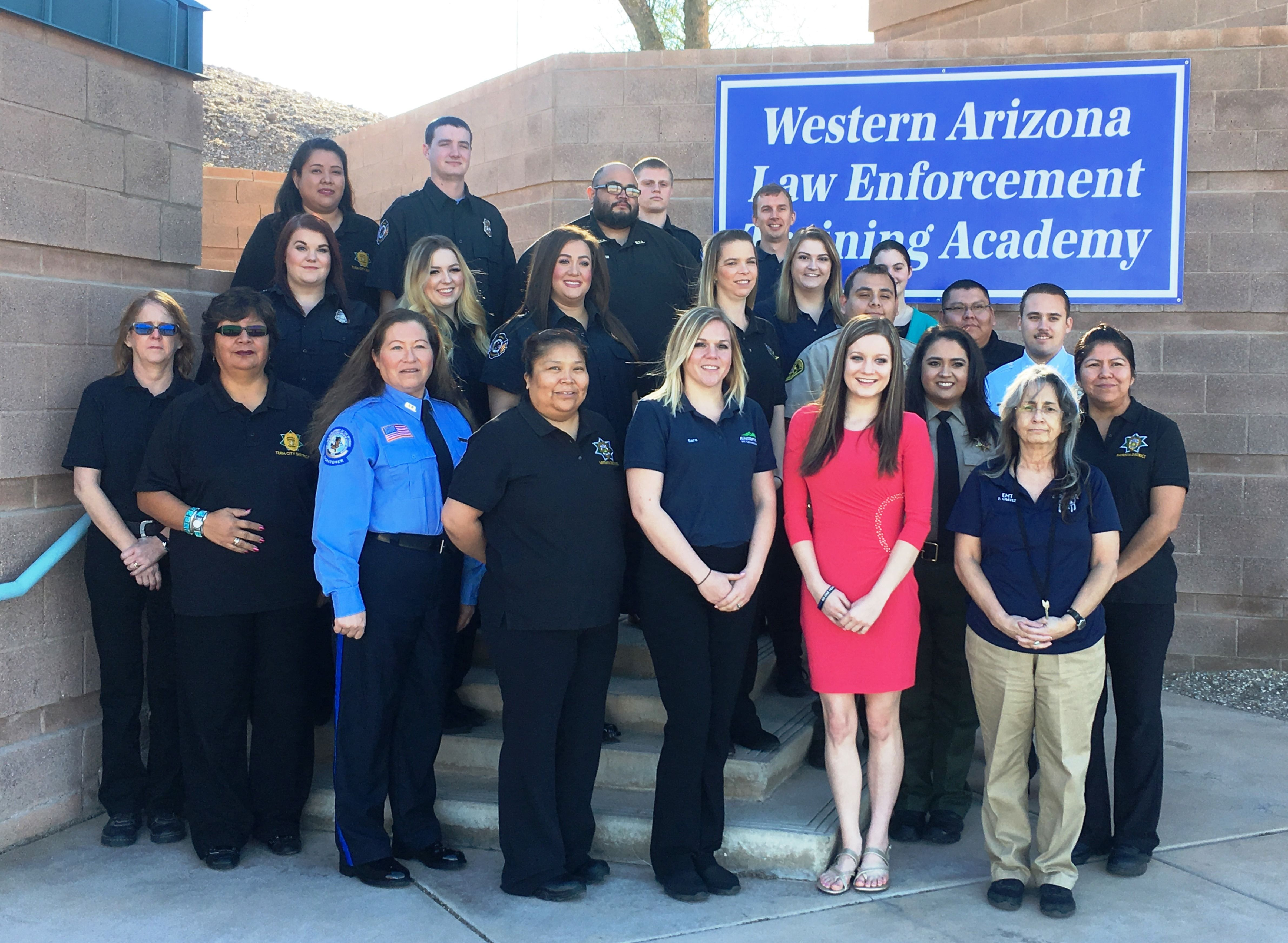23 public safety dispatchers from az nv graduated from