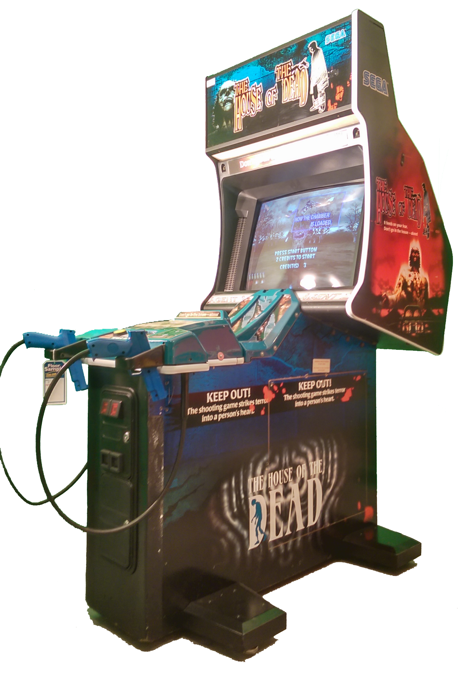 House Of The Dead Arcade Game Room Arcade Room Arcade Cabinet