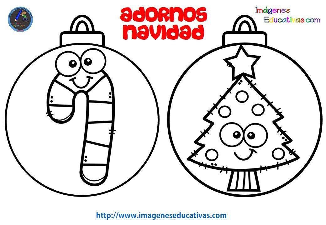 Colección De Bolas De Navidad Para Colorear Totalmente