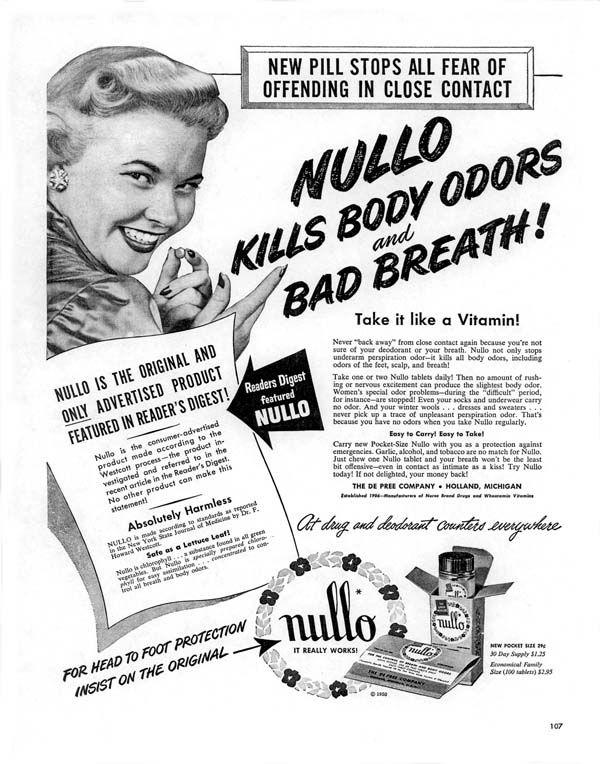 Nullo magazine c 1950