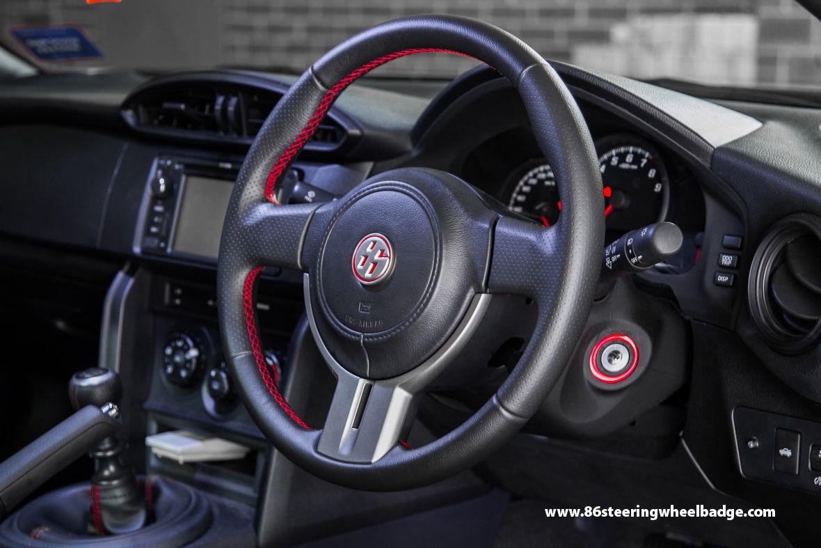 Interior gt 86 steering wheel badge | GT86 / BRZ | Pinterest