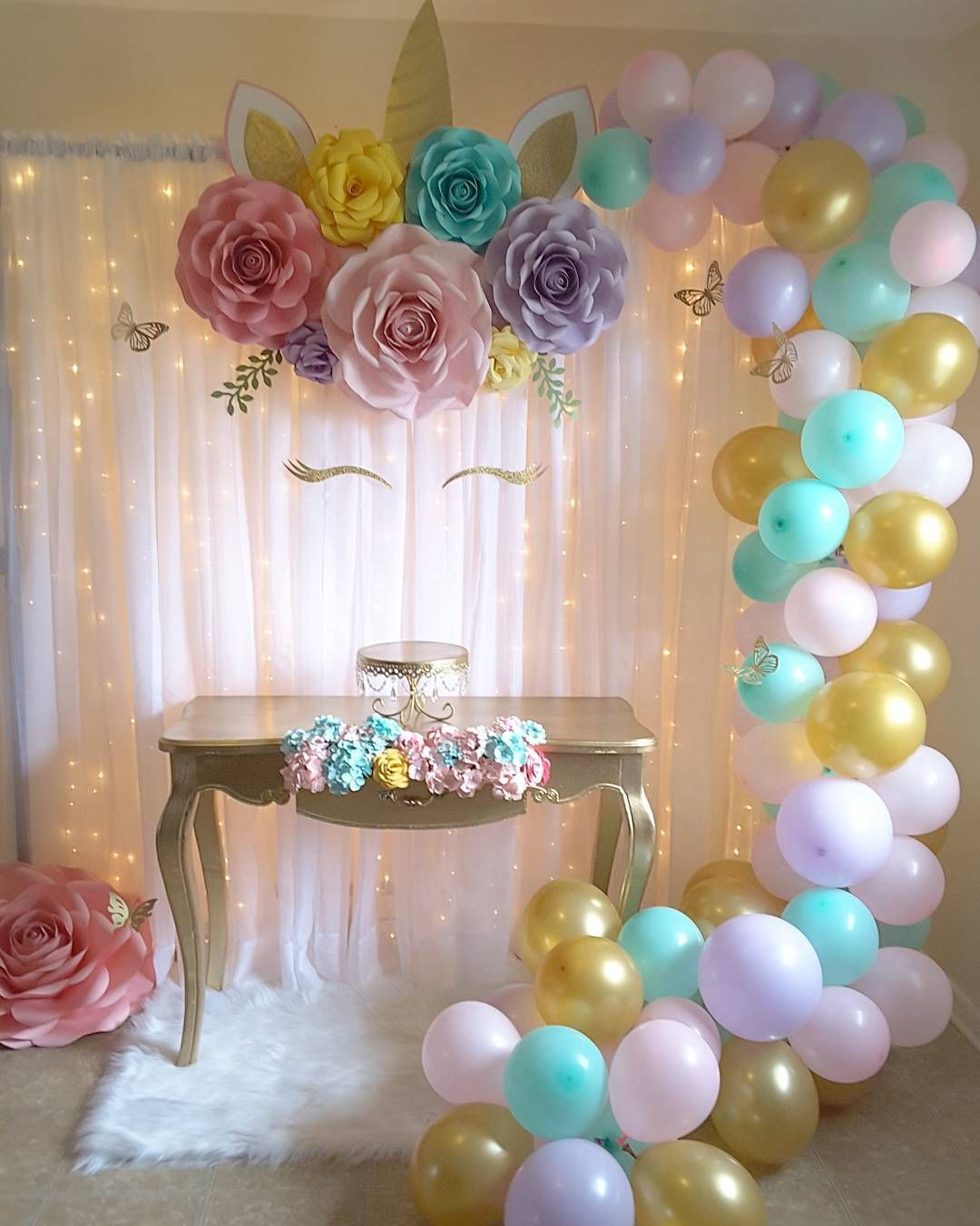 Flower Shower Di Instagram Mi Unicornio Paperflowers