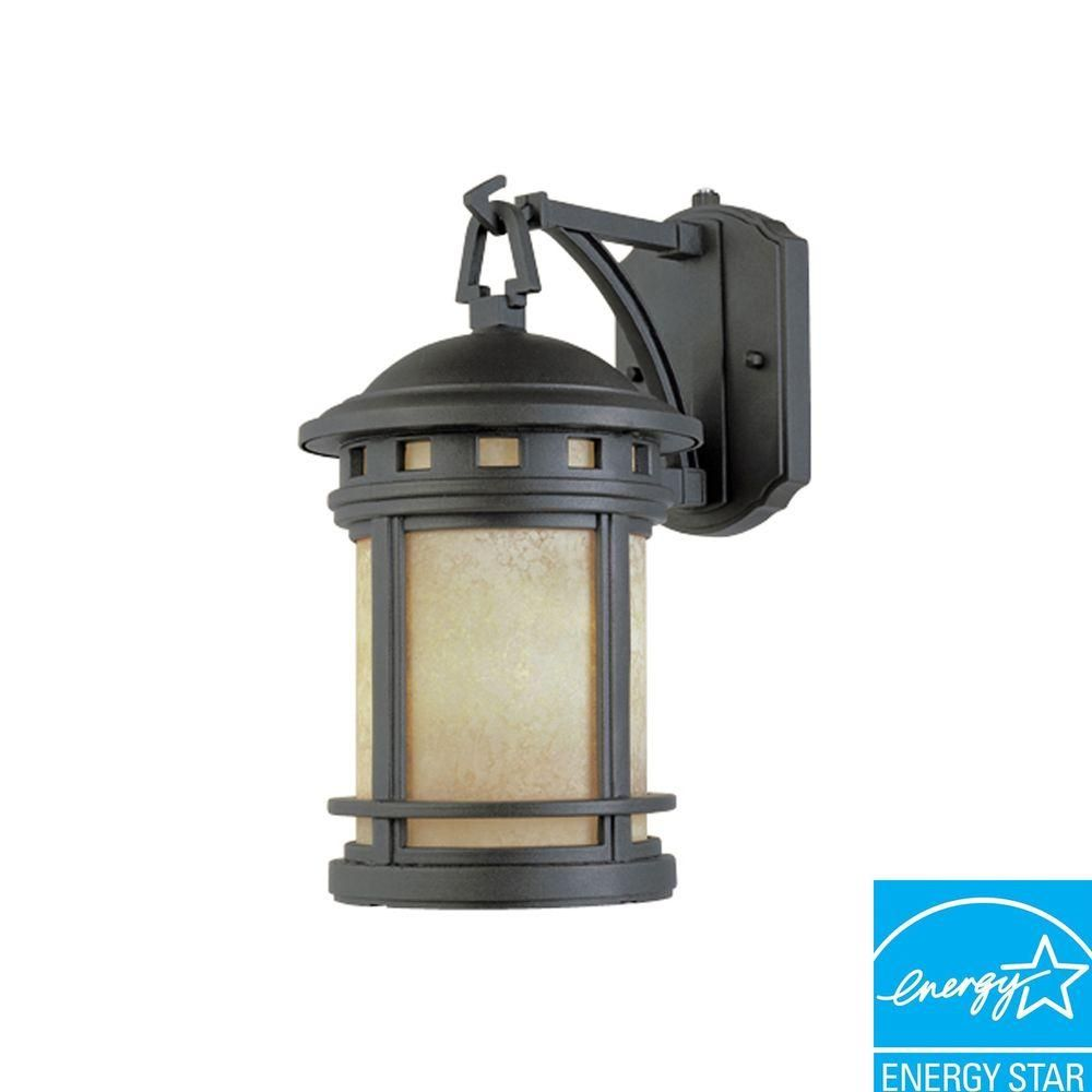 Capistrano oil rubbed bronze outdoor wallmount lantern outdoor