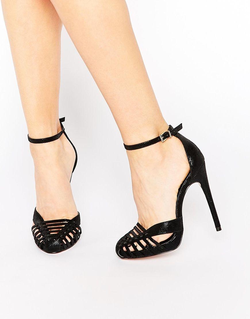 Buy Women Shoes / Asos Petal Caged Heels