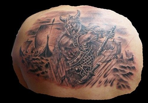 Pin by Carlos Torres on barbarian tattoo ideas | Viking ...