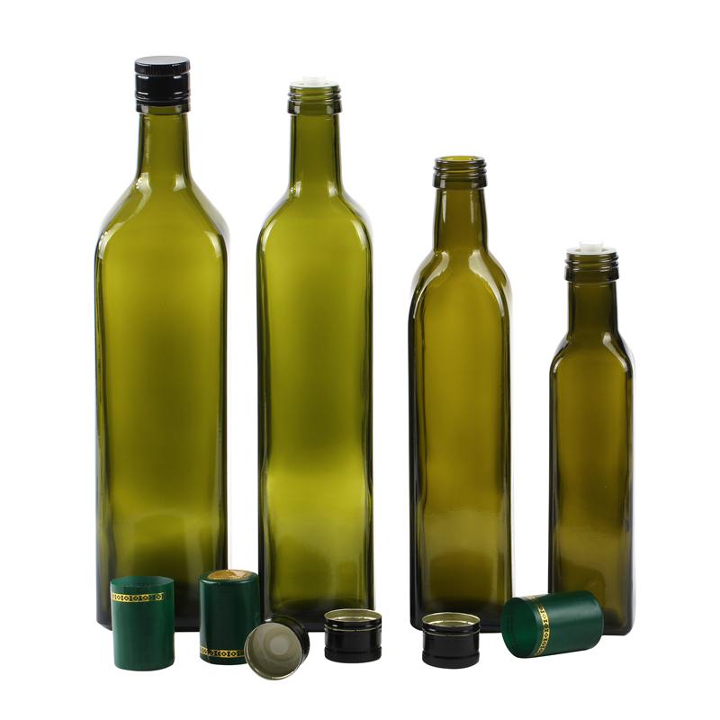 Green Olive Oil Glass Bottle Glass Bottles Wholesale Bottle Olive Oil Bottles