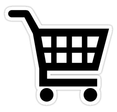 Shopping Cart Sticker By Designzz Agenda Stickers Shopping Cart Supermarket