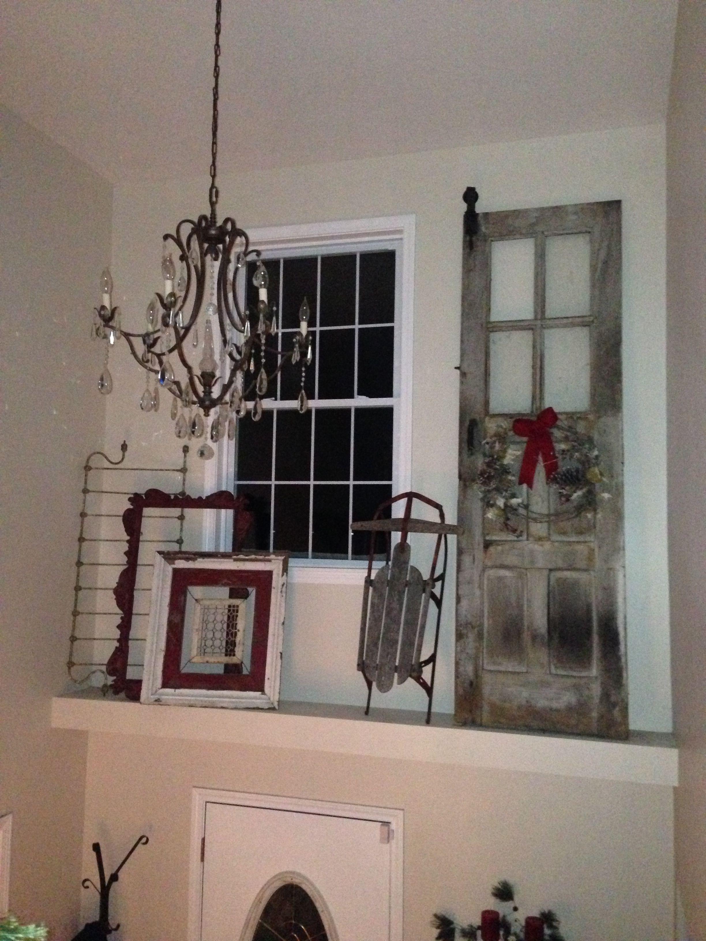 Pin By Bill Schneider On Christmas Ledge Decor Above Door Decor