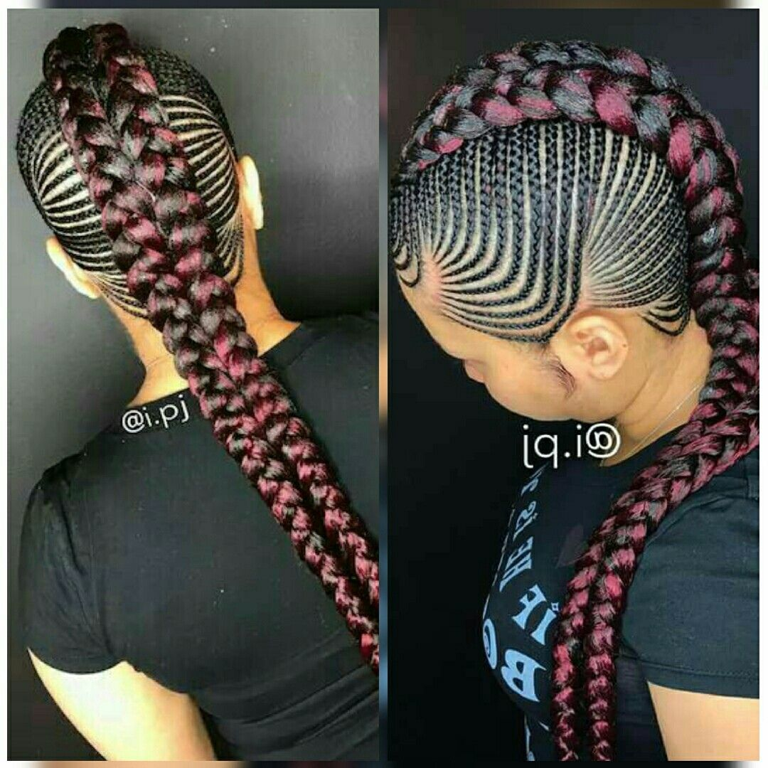 Braids hairstyles pinterest hair style black girl braids and