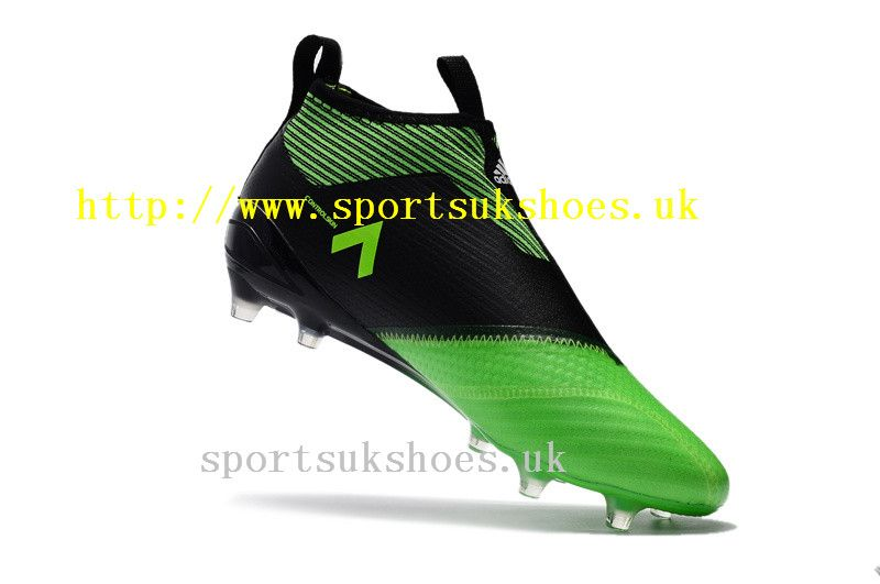 wholesale dealer 87bf1 9b78c Clearance Sale Adidas ACE 17+ Purecontrol FG Football Boots - Solar GreenCore  Black