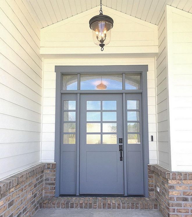 Grey Door Paint Color Storm Cloud By Sherwin Williams The Outer Skin In 2018 Pinterest