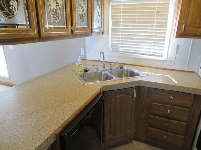 Charmant How To Repair A Mobile Home Counter Top, Countertops, Home Decor, How To