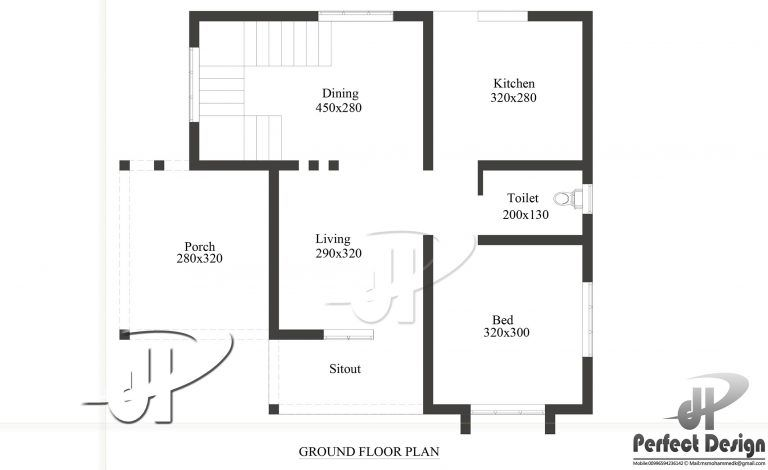 650 Square Feet Single Bedroom Modern Home Design And Plan For 5 Lacks