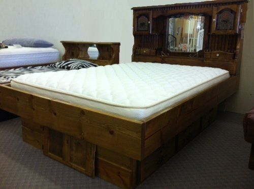 Campbell Deluxe Waterbed Insert Mattress (California King) by ...