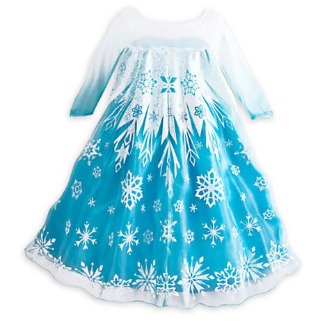 Elsa Costume Collection from Disney Store - frozen Photo | Frozen ...