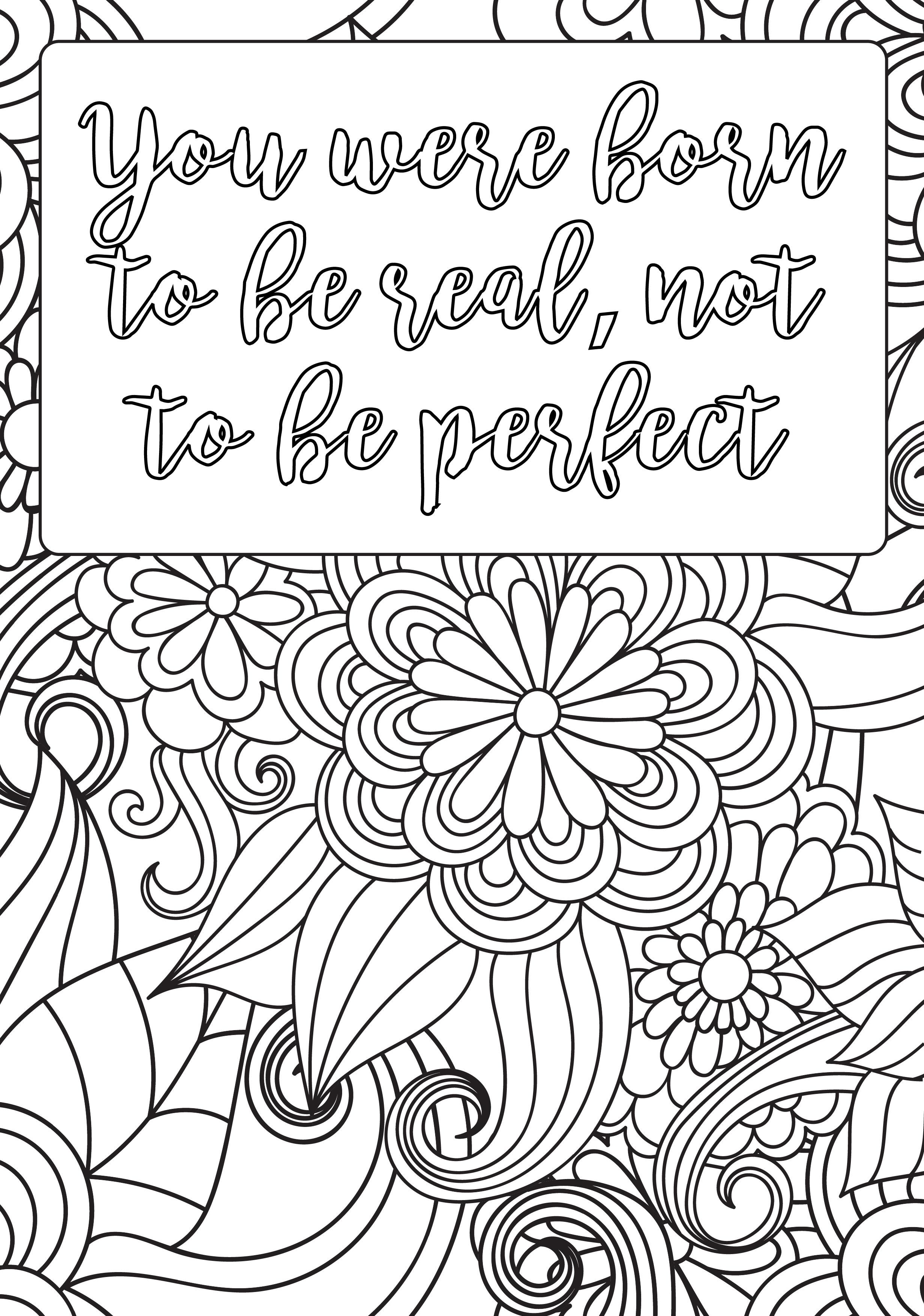 Positive Affirmations Are So Important For Building Self Esteem Resilience And A Growth Mindset If You Would Like Your Own Custom Colouring Pages Please