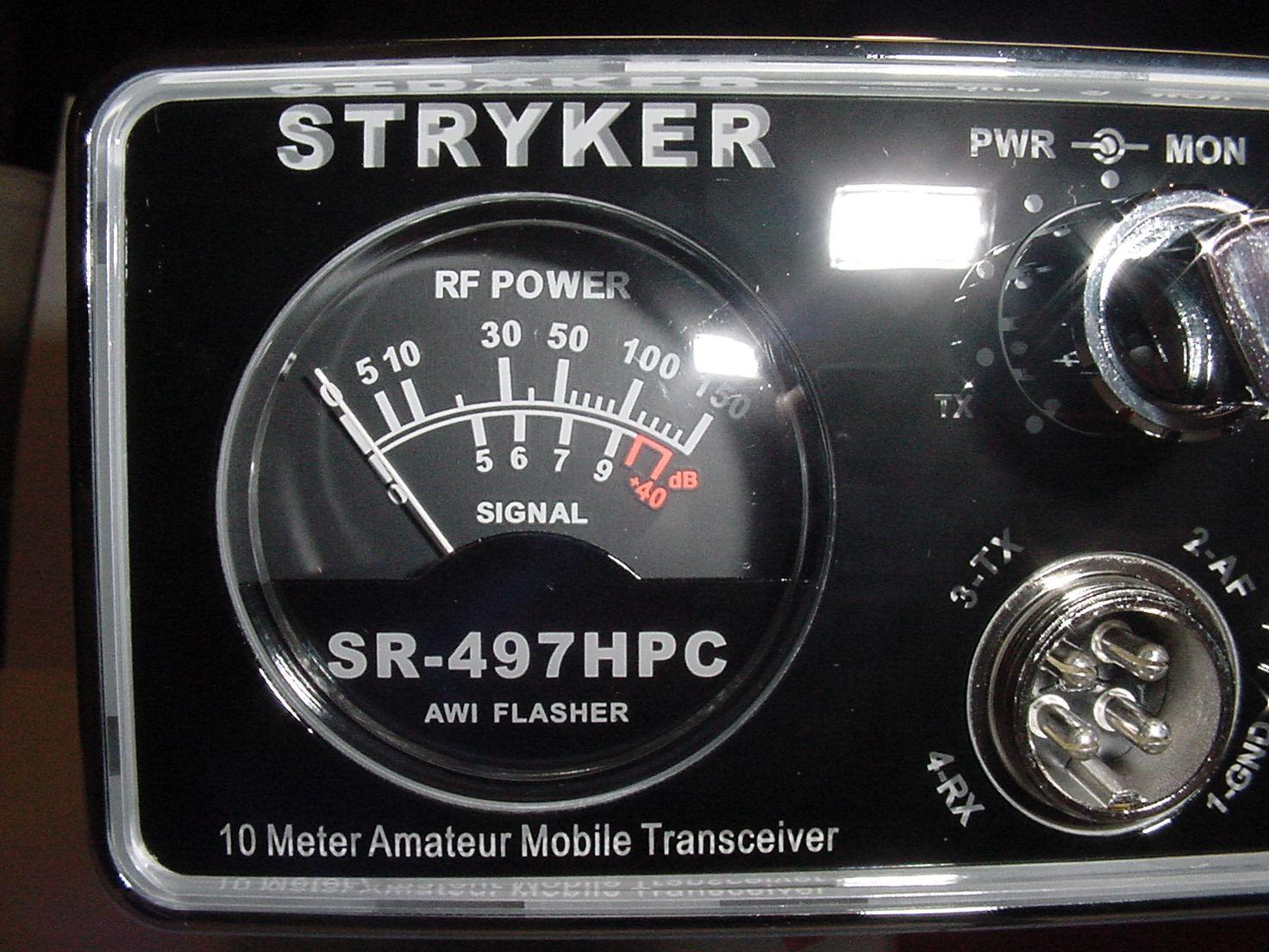 Pin On Stryker Sr 497hpc 10 Meter Radio