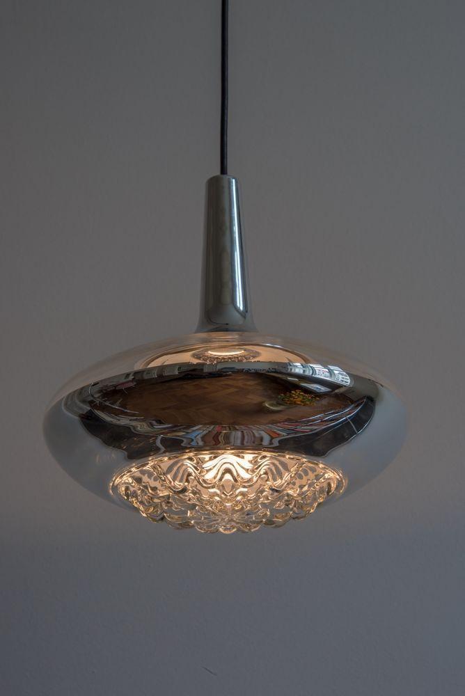 Peill Und PutzlerHängelampe GlasDeckenlampe60er Aus 70er xtdCsQrh