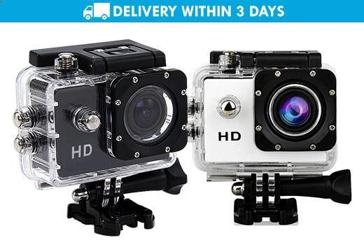 Nationwide Delivery: 5MP Action Sports Camera (White or Black) for P999 instead of P2200! Get it now while stocks last, only here at www.MetroDeal.com!